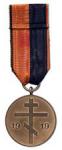 Памятная медаль за участие в боях в Курляндии Бермонта-Авалова